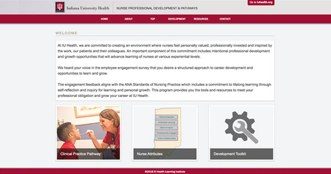 Nurse Development Website